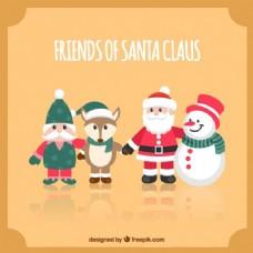 可爱的圣诞老人克劳斯