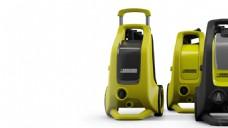 黄色创意电器清洗机jpg素材