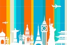 旅行海报背景