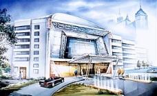 手绘建筑效果图 建筑效果图 手绘效果图 水彩效果图_45
