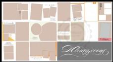 影楼婚纱写真艺术字体设计分层模板
