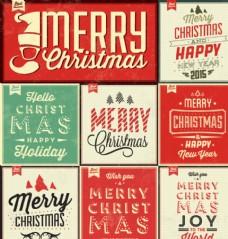 复古圣诞 海报