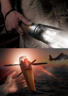 海上救援机械无人机jpg素材