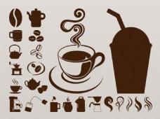 热咖啡咖啡杯图片
