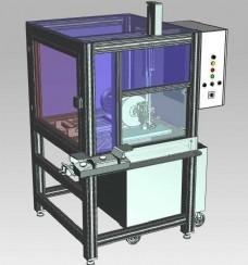 切铝圆锯机机械模型