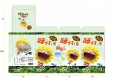 奶油獅海苔包裝設計