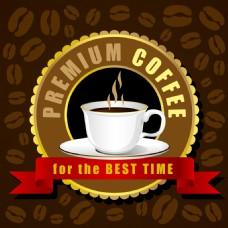 咖啡杯矢量创意设计咖啡馆的想法