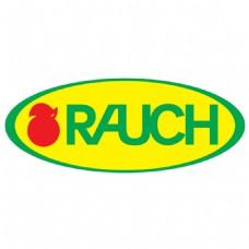 黄色背景水果图标logo设计