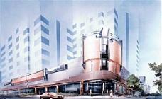 手绘建筑效果图 建筑效果图 手绘效果图 水彩效果图_44