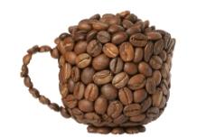 咖啡豆 TIF無底圖圖片