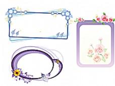 花朵 边框图片