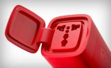 红色帅气的充电器产品jpg素材