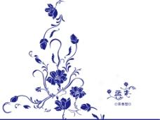 青花瓷酒適量圖展開圖圖片