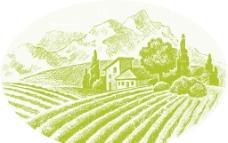 農田適量圖圖片