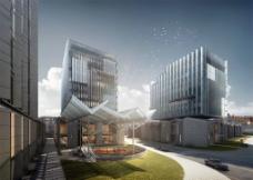 上海復興金融中心效果圖圖片
