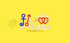 热恋字体设计