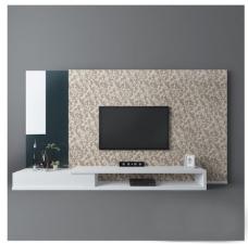 墙纸电视墙