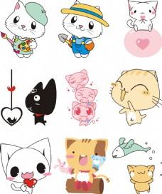 卡通可爱动物