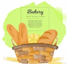 矢量面包设计
