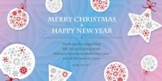 CHRISMAS聖誕卡片海報