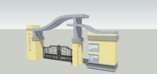 小區大門設計圖片