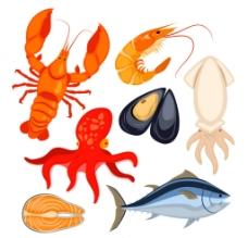海鲜美食集图片