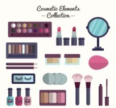化妆品扁平设备
