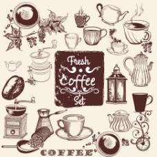 复古咖啡主题