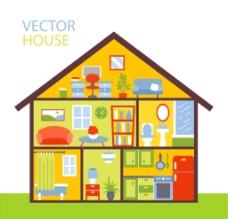 三層 小別墅結構圖圖片