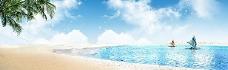 海边度假背景