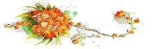 梦幻手绘花朵背景图