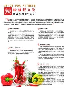 辣味减肥方法图片