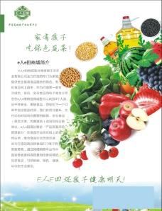吃绿色蔬菜 单页图片