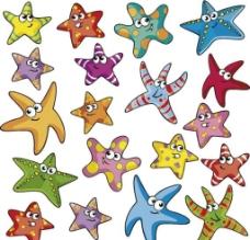 海星卡通形象图片