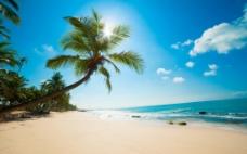 沙滩场景背景图