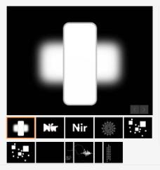 炫酷动画仿心跳频率动态PPT模板