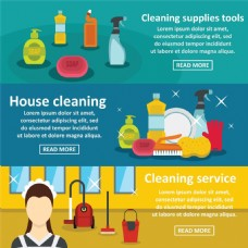 清洁用品背景设计图片