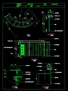 接待台CAD模板免费下载