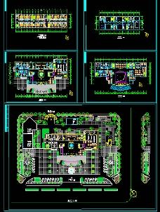 酒店设计施工图