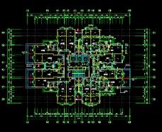 高层综合楼免费CAD素材