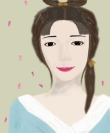 古代女子图片