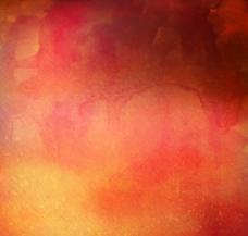 橙色系水彩背景