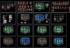多层宾馆建筑施工图