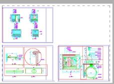 卫生间CAD设计图下载