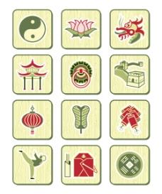 中国传统元素集合一