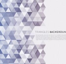 时尚三角形拼接背景矢量素材