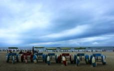 暴雨来临时北海银滩图片