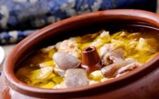 玛卡汽锅土鸡图片