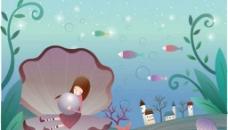 海洋插画图片