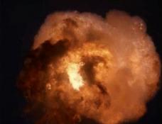 火花爆炸视频